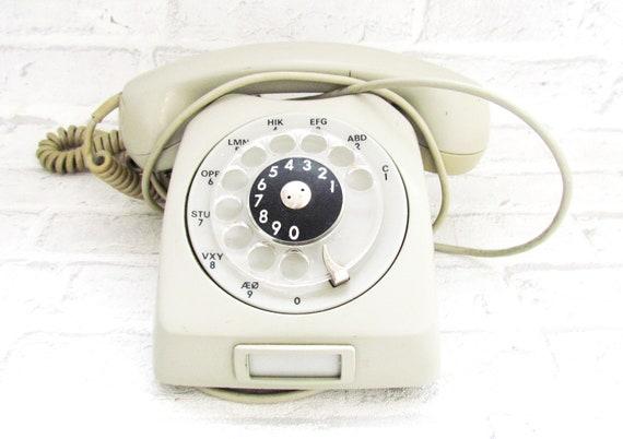 Vintage Phone Vintage Telephone Rotary Phone Retro Home Decor Old Phone Retro Phone Soviet Phone Hotel Phone Rare Phone Old Desk Phone