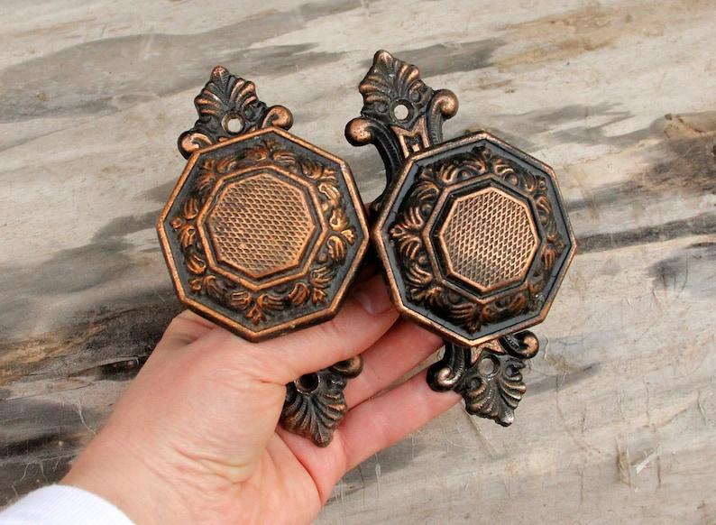 door knob Vintage DoorKnob Metal door knob Retro door knob image 0