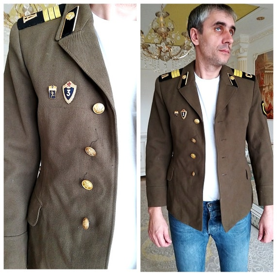 Military Clothing Mens jacket military jacket wool