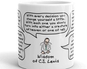 Wisdom of C.S. Lewis Mug