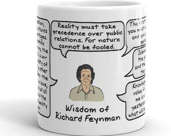 Wisdom of Richard Feynman Mug