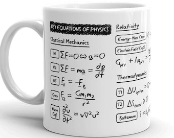 Key Equations of Physics Mug