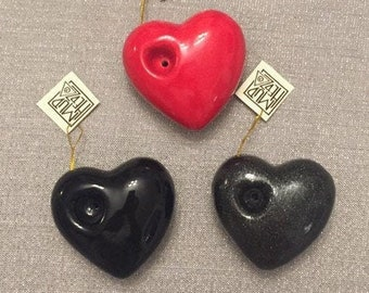 """Heart Pipe, Small Shareable Size,  2 3/4"""""""