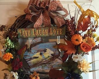 Live-Laugh-Love Wreath