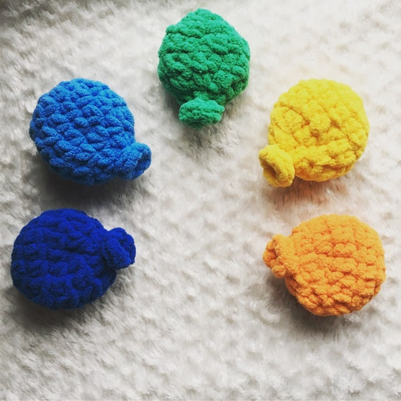 Crochet Reusable Water Balloons - PATTERN ONLY