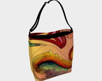 A Rainbow is Born' Day Tote
