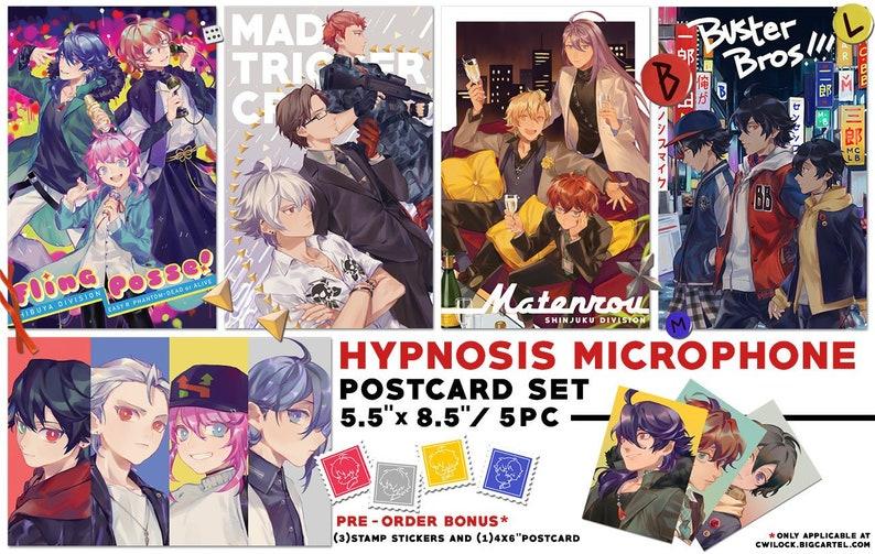 21a925617eb1 Hypnosis Microphone postcard set   Etsy