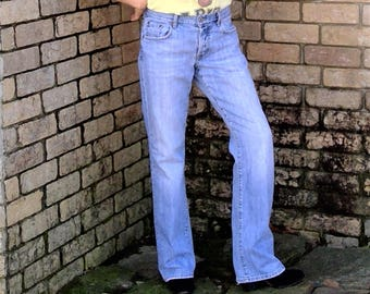 Vintage 1980's LUCKY BRAND Dungarees Easy Rider Jeans - Size 2/26