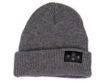 b4d44497ede 50pcs Custom woven label Beanie Hat gray Winter Beanie Beanie for Men Beanie  for Women Personalize Your Beanie