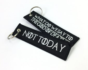 25pcs Custom embroidered key chain with keyring 6b8dc68833