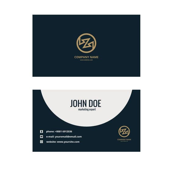 Custom Business Card Printing Printing Business Card Etsy