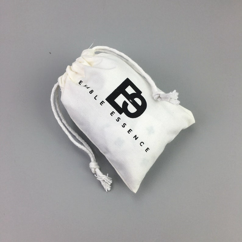 1acb88832a473 200 Custom Drawstring Bags, Durable Cotton Canvas Dust Bag for Handbags or  Shoes, cotton dust bags with logo