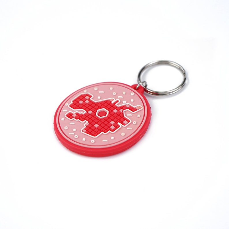 3d round rubber patch keychain with custom logo Soft cartoon PVC Plastic Keychain 50pcs Custom round rubber Keychains