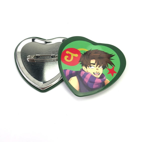 custom heart-shaped magnetic pins for clothes, Fire Emblem 38 mm button  pins, custom round button pin for kid