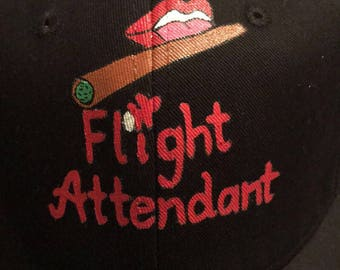1f4806e493c Flight Attendant dad hat