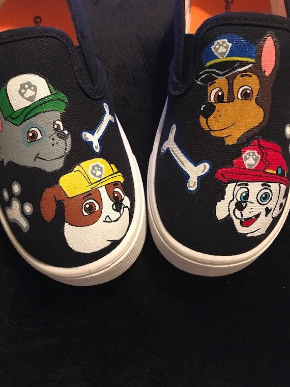Paw Patrol canvas shoes Garanimals