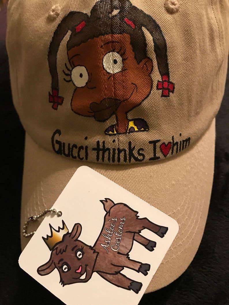 Gucci thinks I love him Susie dad hat  8d02183817f