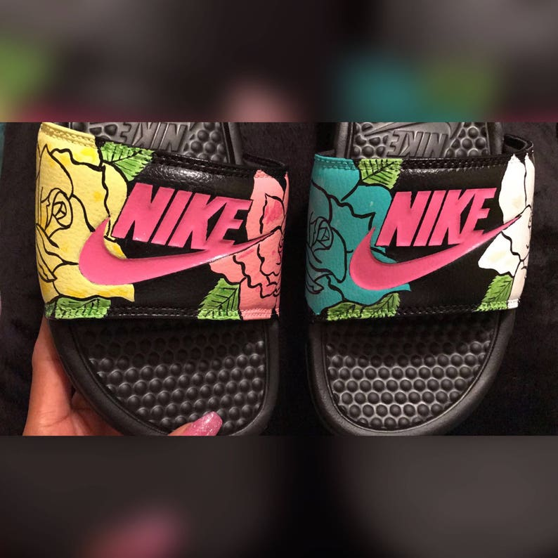 2ef96292df6a Custom Nike slides