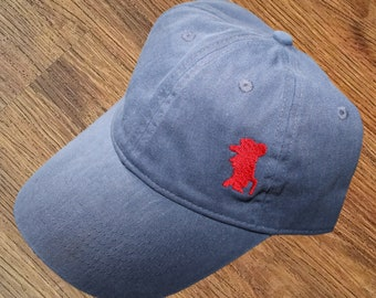 buy popular 748d6 99bb7 ... free shipping ole miss mississippi rebels embroidered pigment dyed hat  embroidered cap college baseball cap custom