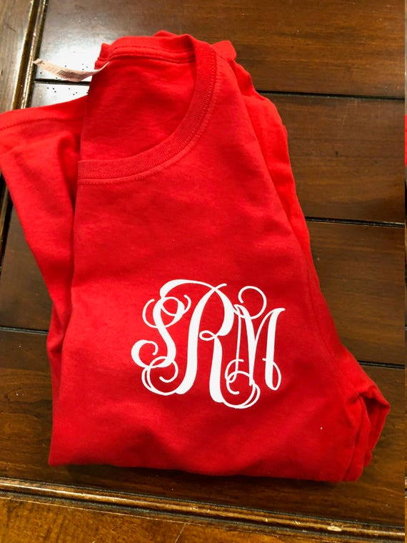 Customized Red Long Sleeve Shirt