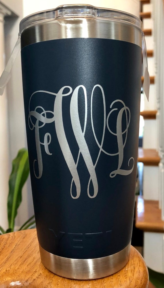 Personalized 20 ounce Insulated Tumblers, assorted colors.