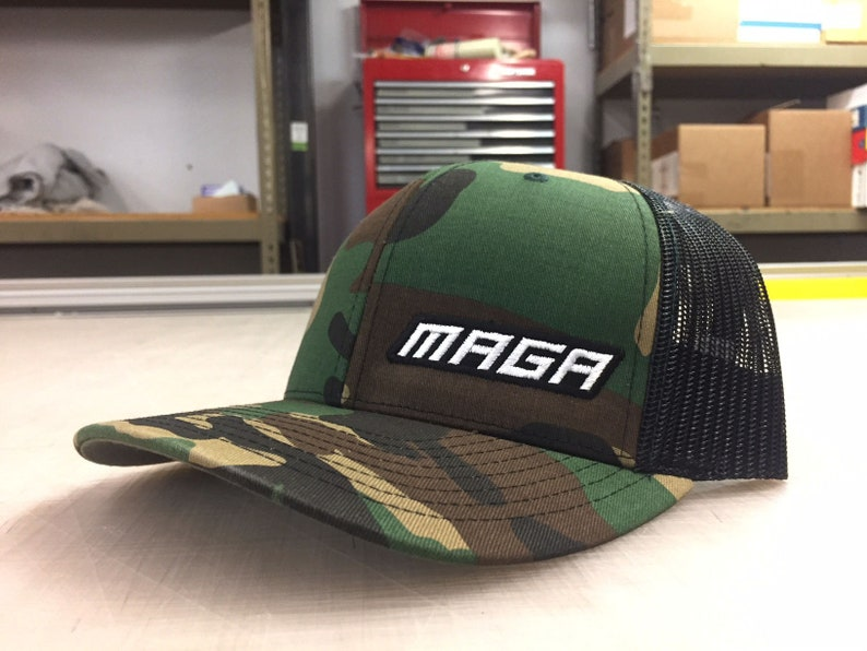 e6b88021744 MAGA Hat Camo and Black If you re going to wear a MAGA