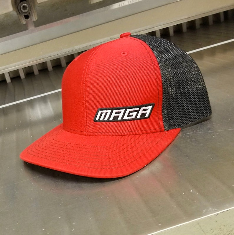 b46eaa4d514 MAGA Hat Red Blk If you re going to wear a MAGA Hat it