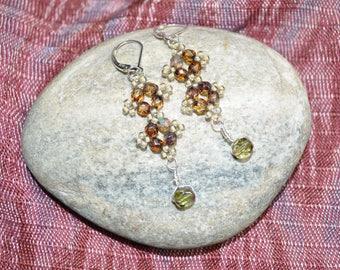 Picot Dangle Earrings