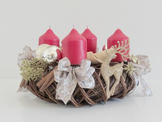 Advent Wreath Willow branch