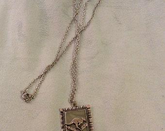 Albon Kangaroo Pendant Necklace