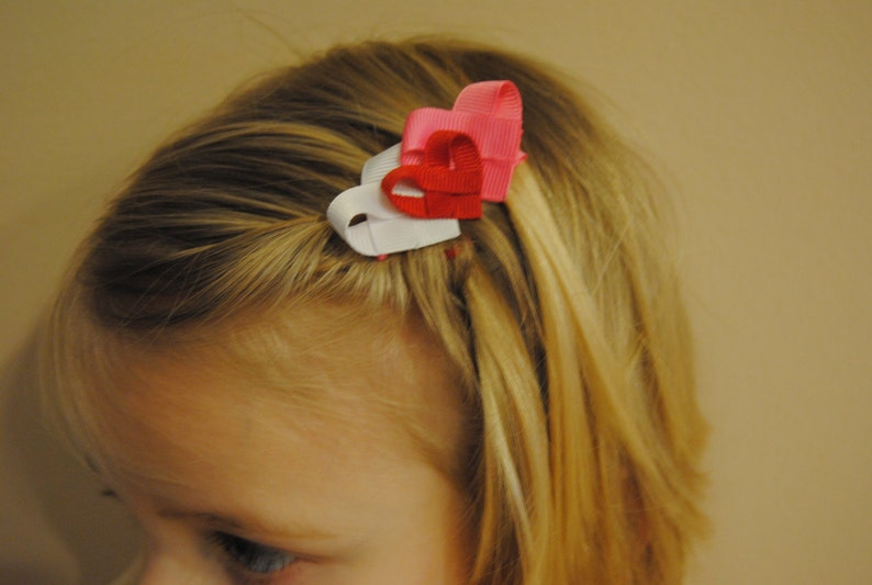 Valentine/'s Day Heart Bow