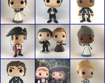 Turn: Washington's Spies Funko Pop Vinyl Customized - Various Characters