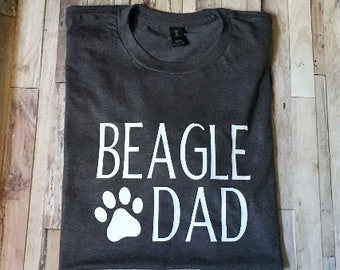 d7fb86f3a Beagle Dad - Dog Dad Shirt