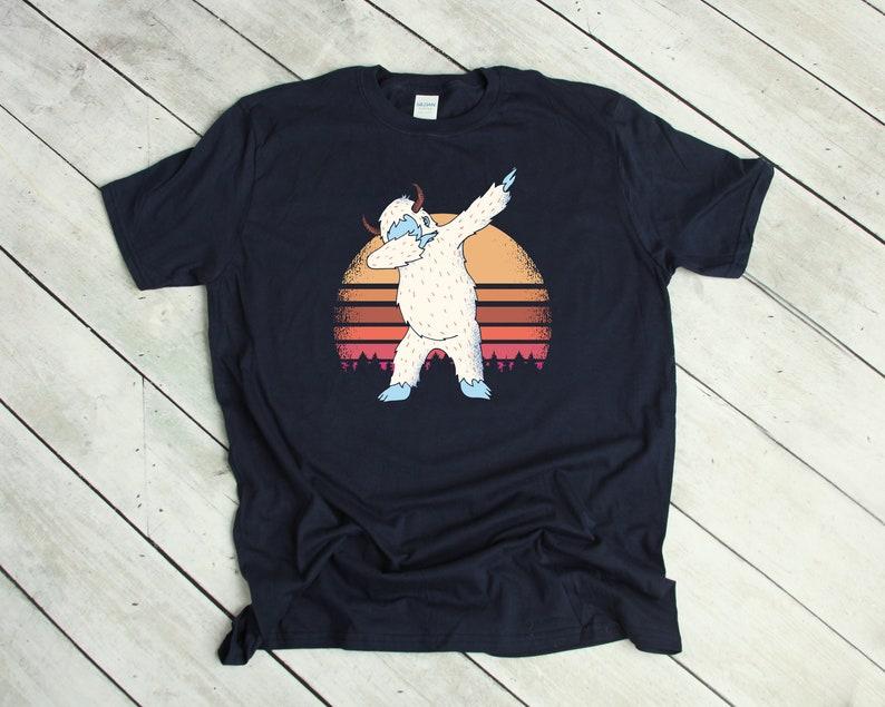 cb78854c8 Dabbing Yeti Shirt Great gift for Christmas Funny Dabbing | Etsy