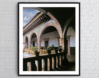 Patzcuaro Arches,Michoacan Mexico,Old Arches,Intant Download,                    Wall Art Decor,Posters Print,Mexico Photos,Printable Art