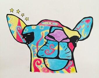 Quirky Camel Print