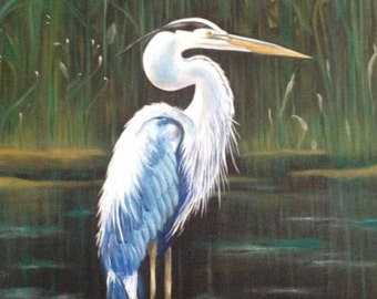 Great Blue Heron Print