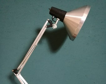 Industrial lamp by H. Busquet for Hala Zeist, 1960's