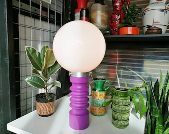 Ceramic and glass space age lamp (pick-up only)