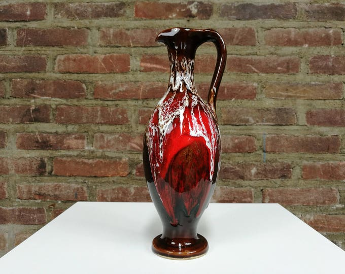 Signed Vallauris vase early 70's