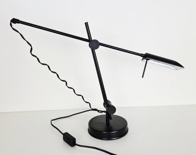Featured listing image: Veneta Lumi Postmodern Desk Light, 1980s