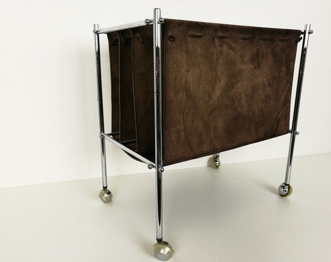 Featured listing image: Vintage magazine cart
