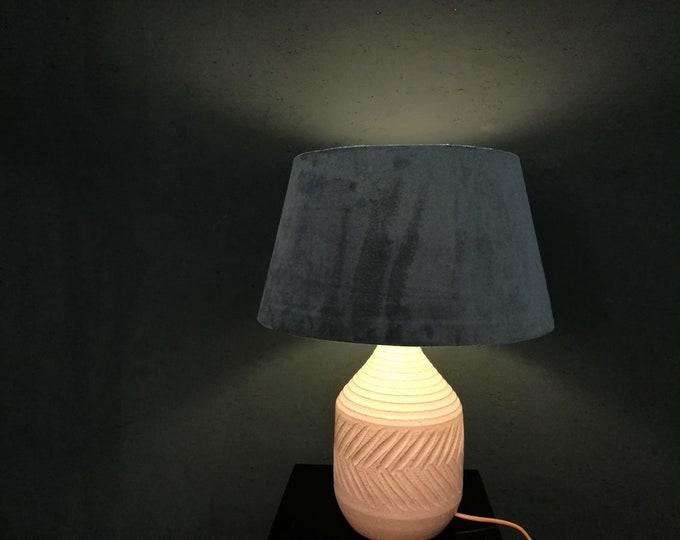 Featured listing image: British stoneware lamp