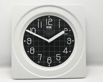 Vintage 1980s Bengt Ek Design Wall Clock