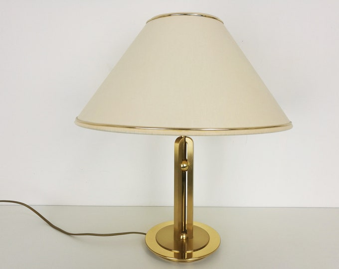 Featured listing image: Brass Table Lamp by B+M Leuchten