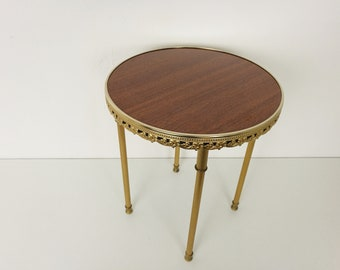 Hollywood Regency Side Table / Planter Stand