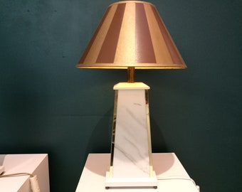 Hollywood Regency lamp, 1980s (2)