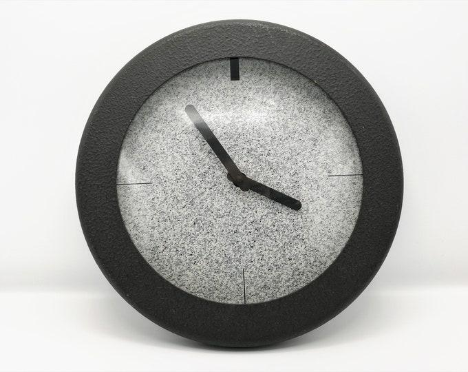 Postmodern Memphis Milano style clock, 1980s