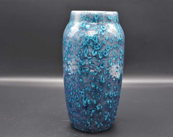 Vintage Scheurich vase 242-22, Fat lava Germany