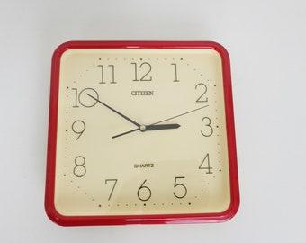 Minimalist Wall Clock by Citizen